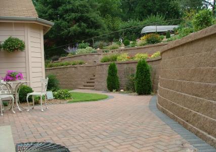 生态景观挡土墙