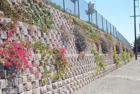 生态植栽挡土墙